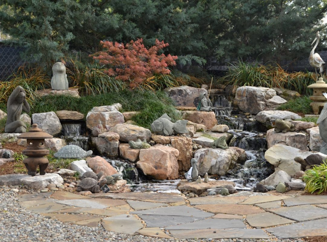 stone garden art sculpture fountains pavers pathways rock gravel outdoor living fire pit grill tops hearth patio mulch pinestraw fireplace natural pond engraving