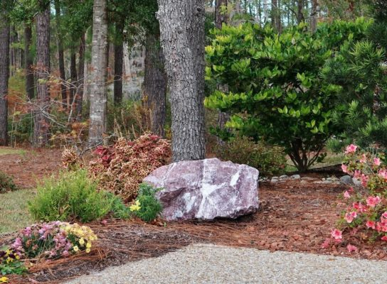 stone garden fountains pavers pathways rock gravel outdoor living fire pit grill tops hearth patio mulch pinestraw fireplace natural pond engraving boulder
