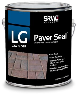 SRW Products low gloss paver seal can